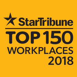 Star Tribune 2018 Top 150 Places to Work
