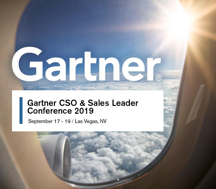 Gartner CSO and Sales Leadership Conference | BI WORLDWIDE